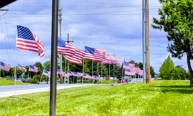 Remembering the men and women who bravely served this country.